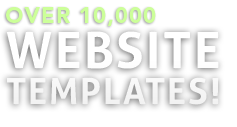over 10,000 website templates!